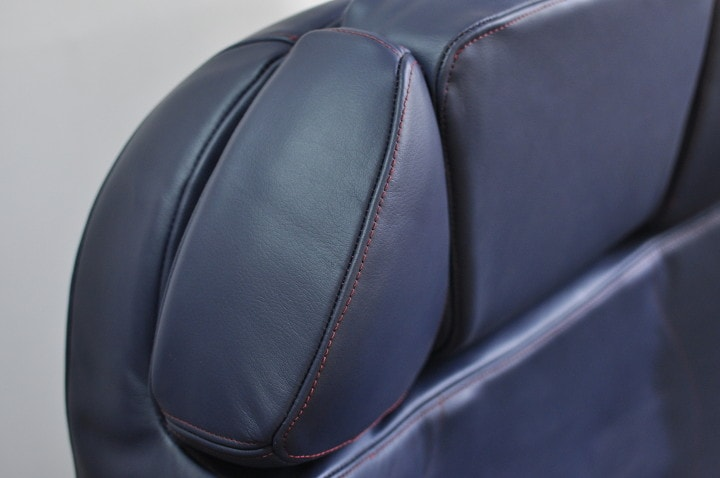 Business class leather seat cover